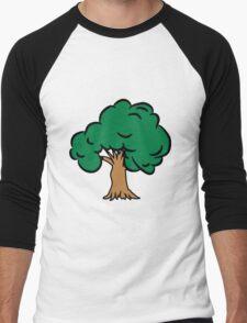 old big tree Men's Baseball ¾ T-Shirt