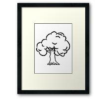 old big tree Framed Print