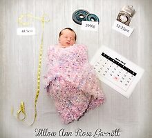 Birth Announcement  by Melissa Dickson