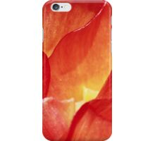 Fiery Petals iPhone Case/Skin