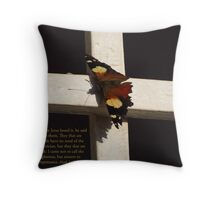 Jesus comes to heal the sick Throw Pillow