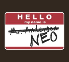 My name is Neo by Lex Lewis