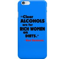 Clear Alcohols iPhone Case/Skin