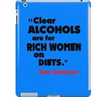 Clear Alcohols iPad Case/Skin