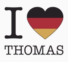 I ♥ THOMAS by eyesblau