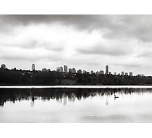 The Heron and the City Photographic Print