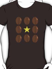 Coffee beans vector design T-Shirt