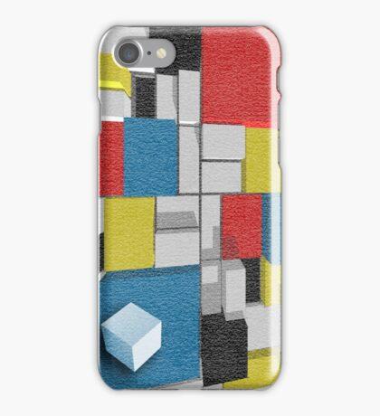 3D Piet Mondrian/Van Doesburg De Stijl iphone case Cover For iPhone 5/5S iPhone Case/Skin