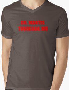 Dr Mantis Toboggan, MD Mens V-Neck T-Shirt
