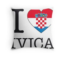 I ♥ IVICA Throw Pillow