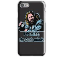Big Lebowski Philosophy 12 iPhone Case/Skin