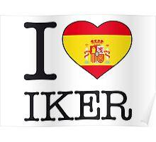 I ♥ IKER Poster