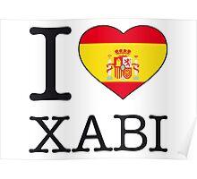I ♥ XABI Poster