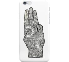 Hunger games Salute symbol Mandala Design. iPhone Case/Skin