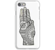 Hunger games Salute symbol Mandala Design. iPhone Case/Skin