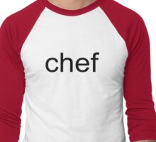 SP - Chef Men's Baseball ¾ T-Shirt