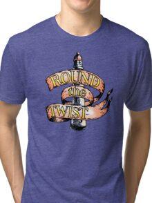 Round The Twist Tri-blend T-Shirt