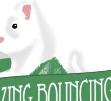 Bouncing Ferret Tee Sticker