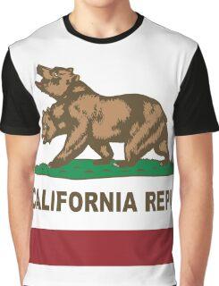 New California Republic Flag Original  Graphic T-Shirt