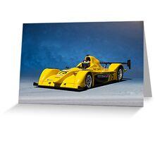 SCCA Prototype Racecar P2 Greeting Card