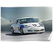 SCCA Porsche GT2 Poster