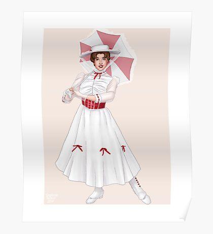 Mary Poppins (Jolly Holiday) Poster