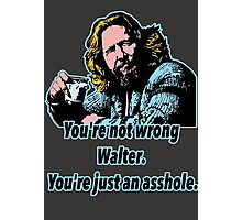 Big lebowski Philosophy 13 Photographic Print