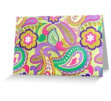 Flowers Patterns Greeting Card