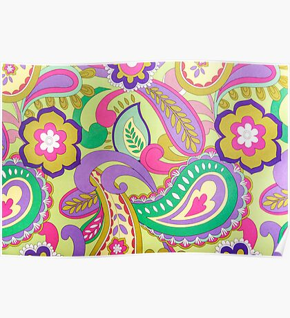Flowers Patterns Poster