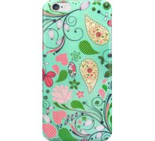 Garden Background iPhone Case/Skin