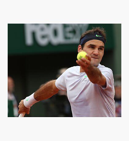 Roger Federer Photographic Print