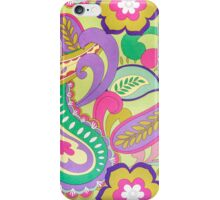 Flowers Patterns iPhone Case/Skin