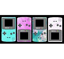 Pastel Nintendo Photographic Print
