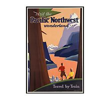 Pacific Northwest Vintage Art by AmazingMart