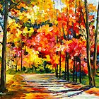 GOLD OCTOBER by Leonid  Afremov