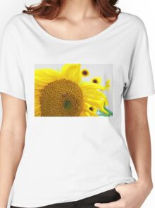 Sunflowers in the Sun Women's Relaxed Fit T-Shirt