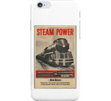 Steam Power Train Vintage Art iPhone Case/Skin