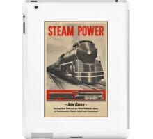 Steam Power Train Vintage Art iPad Case/Skin