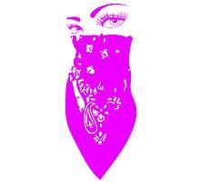 Pink Bandana Photographic Print