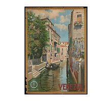Venice Italy Vintage Art by AmazingMart