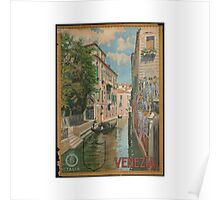 Venice Italy Vintage Art Poster