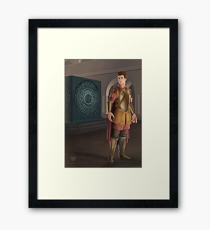 The Lone Centurion Framed Print