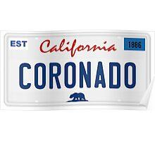 Coronado - California.  Poster