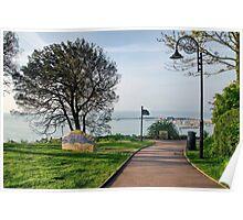 Langmoor-Lister Gardens At Lyme Regis Poster