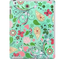 Garden Background iPad Case/Skin