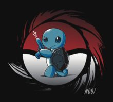 Pokemon 007 Squirtle by Pokerus