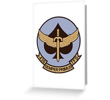 436th Tactical Fighter Squadron Greeting Card