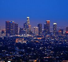 Downtown Los Angeles #1 by Stephen Burke