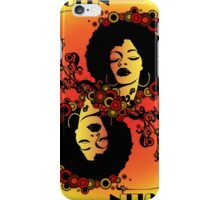 Afro Queen iPhone Case/Skin