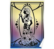Silhouette Snow White Poster